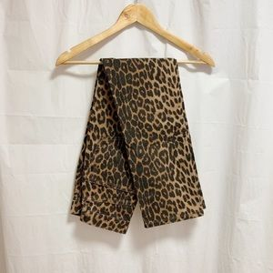 NWT Zara TRF Collection Animal Print Jeans
